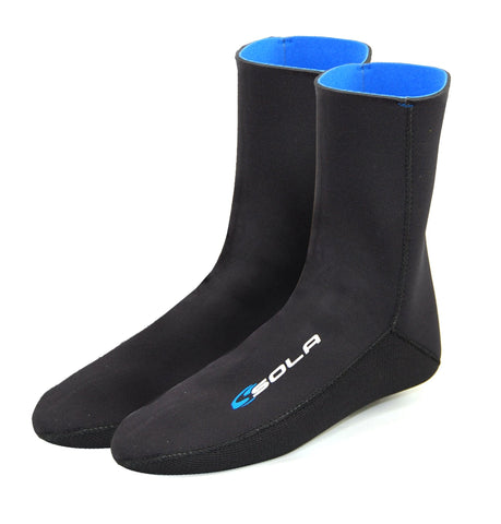 4mm Neoprene Fleece Lined Socks-Bob Gnarly Surf