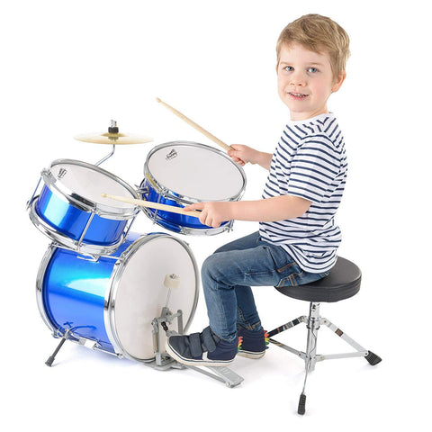 5 Piece Childrens Drum Kit-Bob Gnarly Surf