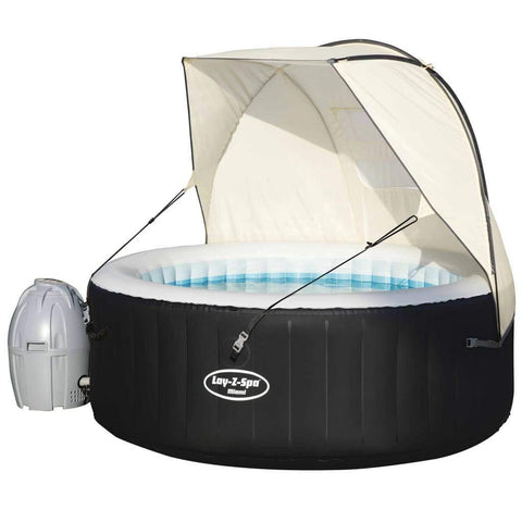 Lay-Z-Spa Hot Tub Canopy Beige-Bob Gnarly Surf