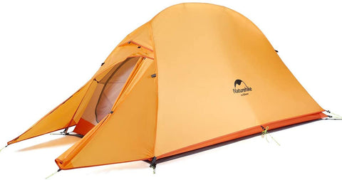 Naturehike Cloud One Person Ultralight Backpackers Tent Orange