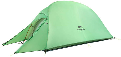 Naturehike Cloud One Person Ultralight Backpackers Tent Green