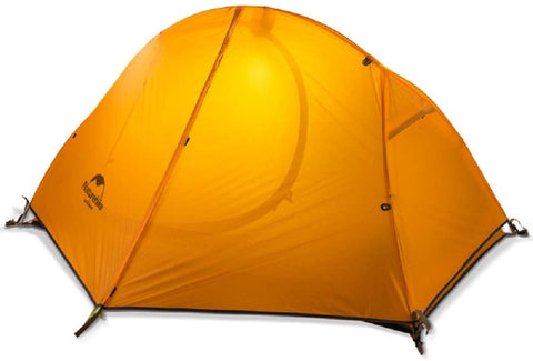 Naturehike One Person Double Layer Ultralight Tent Orange