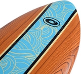 "5'8"" Foamie Fish Wood Effect-Bob Gnarly Surf"
