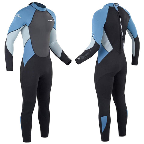 Men's Zero 3mm Wetsuit Blue-Bob Gnarly Surf