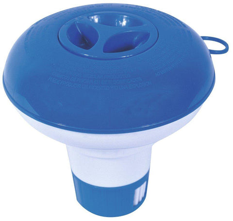 Pool Chemical Floater 5 inch Blue
