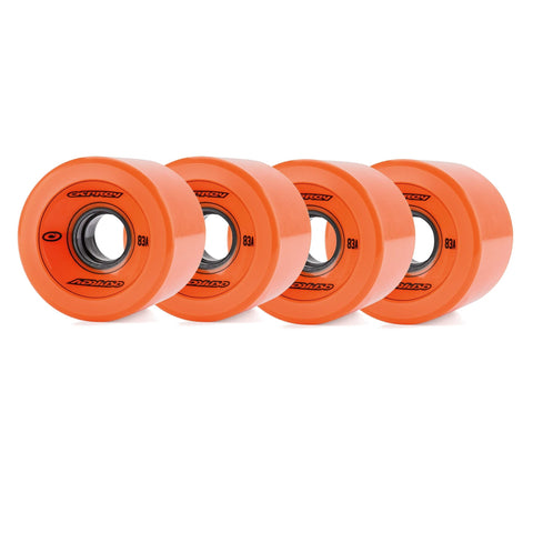68 X 51mm Pu Skateboard Wheel Set 83A-Bob Gnarly Surf