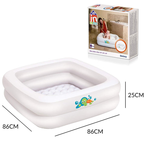 Inflatable Baby Bath Tub - Bob Gnarly Surf