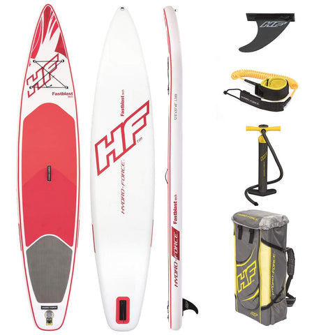 "Hydro-Force Fastblast 12'6"" Tech Inflatable SUP"