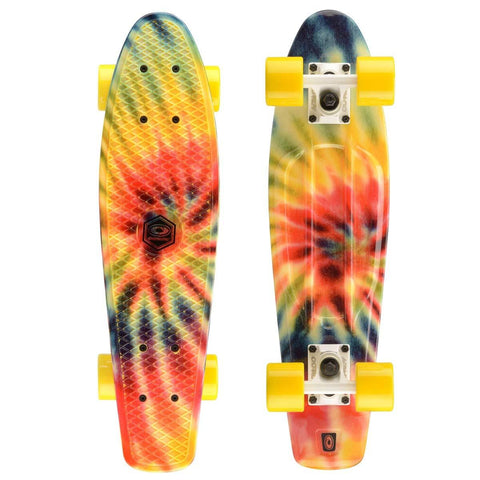 "Tye Splash Retro 22"" Plastic Cruiser"