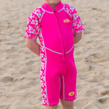Infants Shorty Wetsuit 3/2mm Upf50+ Kid Toddler Child Beach Swim Protect