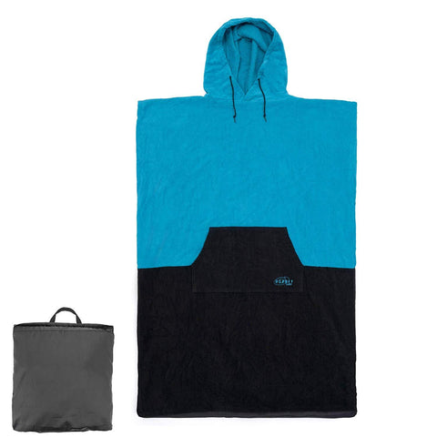 Hooded Towel Poncho-Bob Gnarly Surf