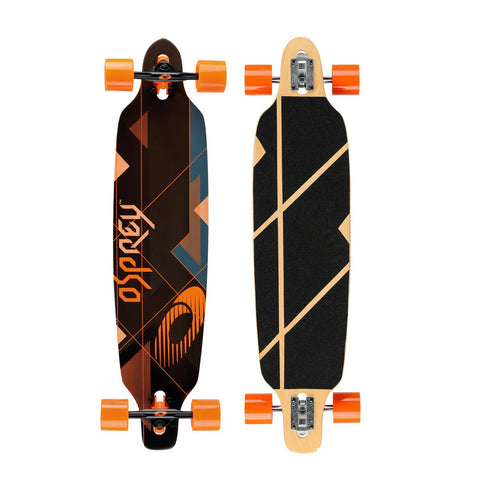 "Nexus 39"" Twin Tip Longboard-Bob Gnarly Surf"