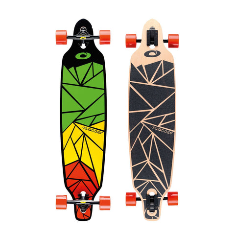"Shapes Rasta 40"" Longboard-Bob Gnarly Surf"
