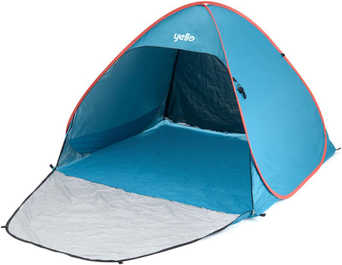 Small Pop Up Beach Tent Blue-Bob Gnarly Surf
