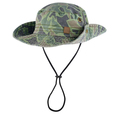 Men's Camo Bush Walk Hat-Bob Gnarly Surf
