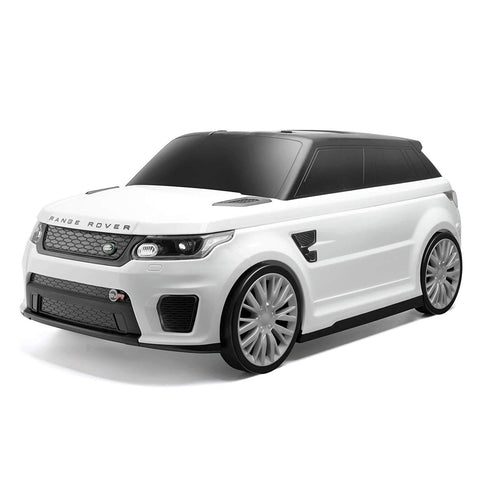 Range Rover Kids Ride On Suitcase White