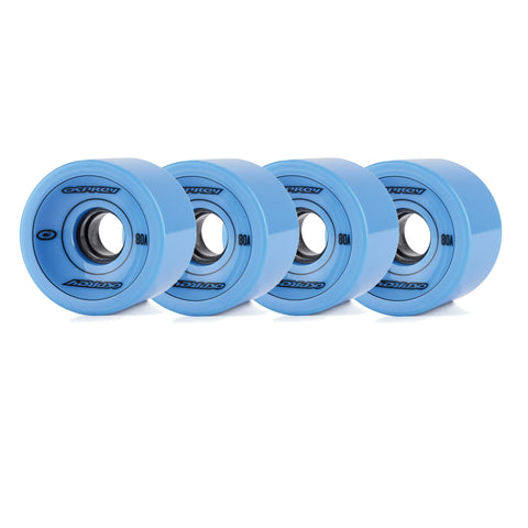 75 X 51mm Pu Skateboard Wheels 80A-Bob Gnarly Surf