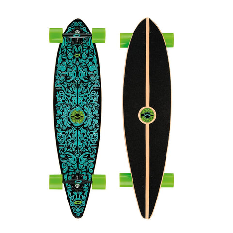 "Spectrum 40"" Pintail Longboard-Bob Gnarly Surf"
