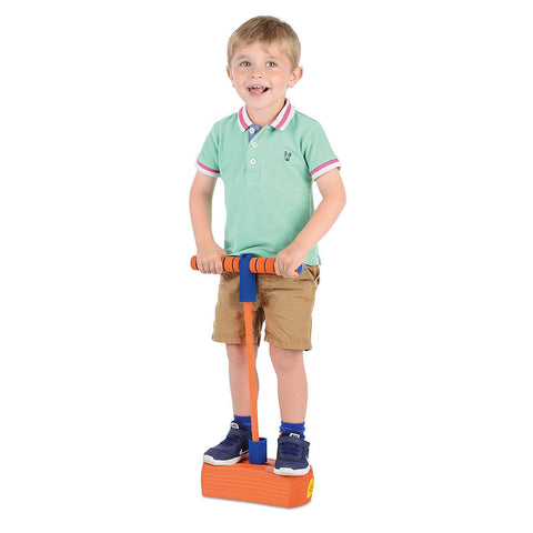 Jump 'N' Bounce Bungee Hopper Soft Pogo Stick-Bob Gnarly Surf