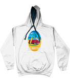 Bob Gnarly Surf Bus Varsity Hoodie-Bob Gnarly Surf