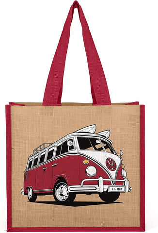 Volkswagen Jute Reusable Shopping Beach Bag