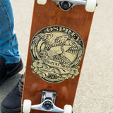 In SK8 We Trust Double Kick Skateboard-Bob Gnarly Surf