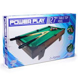 Power Play Table Top Pool Game, 27 Inch - Bob Gnarly Surf