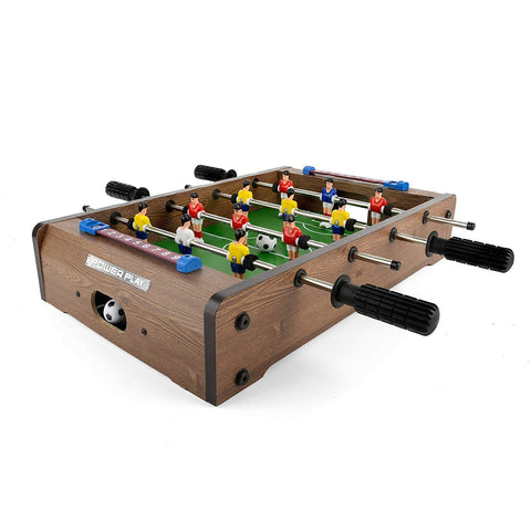 Power Play Table Top Football Foosball Game, 20 Inch