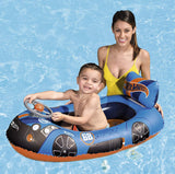 Hot Wheels Children's Inflatable Speed Boat-Bob Gnarly Surf