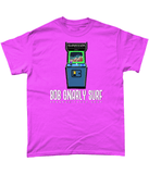 Retro Shredder Arcade Game T-Shirt-Bob Gnarly Surf