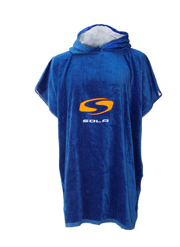 Unisex Adult Velour Towel Changing Robe-Bob Gnarly Surf