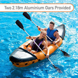 Hydro Force Rapid X2 Kayak with Oars-Bob Gnarly Surf