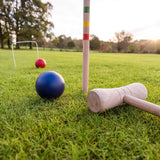 Wooden Croquet Set 4 Player-Bob Gnarly Surf
