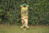 "Honister Green 36"" Cruiser Longboard-Bob Gnarly Surf"