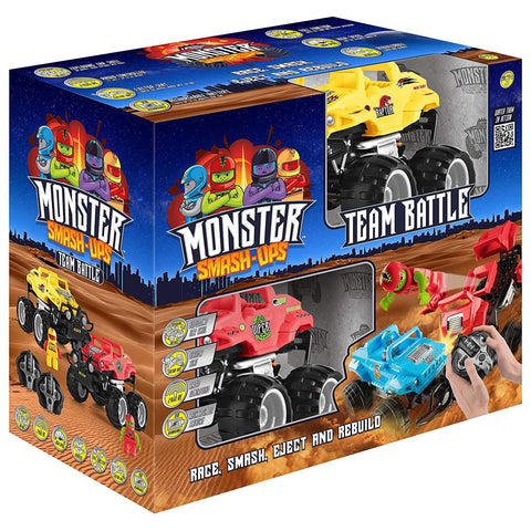 Monster Smash Ups 2-In-1 Battle