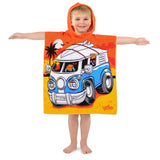 Microfibre Beach Towels & Kids Towel Ponchos