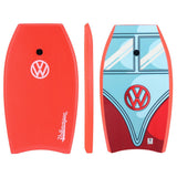 "VW™ T1 Bus Bodyboard 41"" Red-Bob Gnarly Surf"