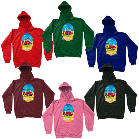 Kids Bob Gnarly Surf Bus Hoodie-Bob Gnarly Surf