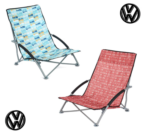 VW Camper Van Low Beach Chair