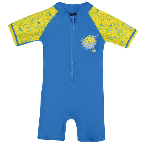 Infant Boys Blowfish Uv Sunsuit Age 1-4 Beach Swim Upf 50+