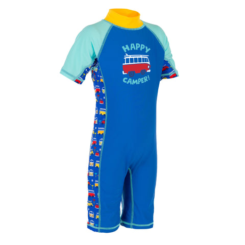 Boys Sunsuit Volkswagen (VW) Official Licensed-Bob Gnarly Surf