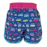 Girls Swim Shorts Volkswagen (VW) Official Licensed-Bob Gnarly Surf