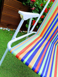 Striped Folding Camping Chair