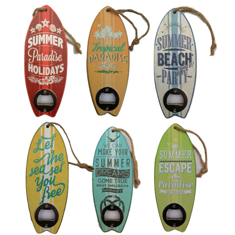 Surfboard Bottle Opener - Bob Gnarly Surf