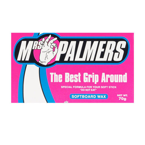Mrs Palmers Softboard & Bodyboard Wax-Bob Gnarly Surf