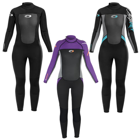 Origin Womens 3/2mm Wetsuit Adult Full Length Neoprene Ladies Wet Suit-Bob Gnarly Surf