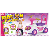 Ride-on Push Along Truck (Flowers)