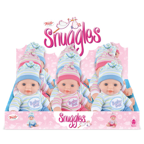 Snuggles 19cm Baby Doll-Bob Gnarly Surf