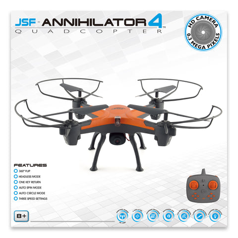 JSF Annihilator 4 Quadcopter Drone with Camera