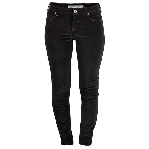 Women's Lewis Raven Black Cord Trousers